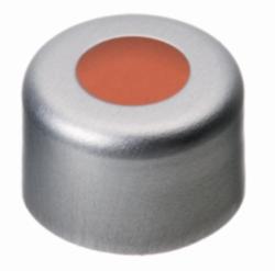 Capsule à sertir N 8 -  LLG, en aluminium avec septum préassemblé