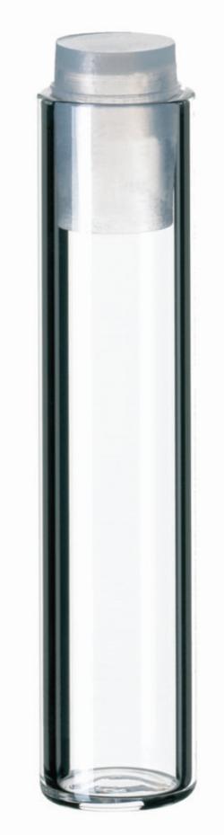 Flacon LLG type Shell ND8, ND12, ND15, avec bouchon en PE