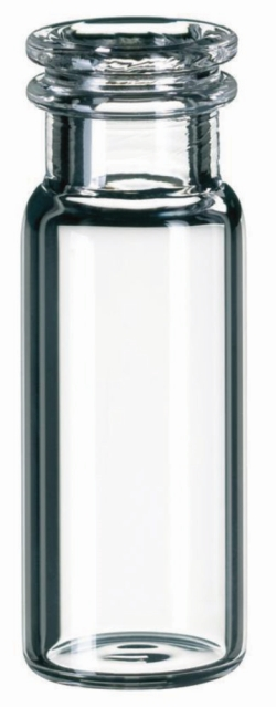 LLG-Schnappringflaschen ND11, weite Öffnung , sowie passende Mikroeinsätze