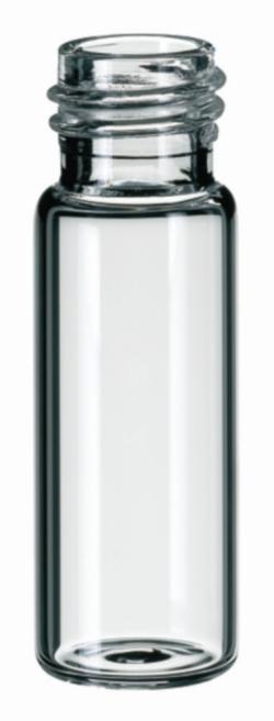LLG-Gewindeflaschen ND13 sowie passender Mikroeinsatz