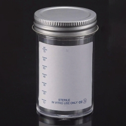 LLG-Sample containers, PS, with metal cap, sterile