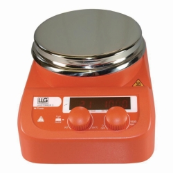 Agitador magnético LLG-uniSTIRRER 3 con calefacción, set completo