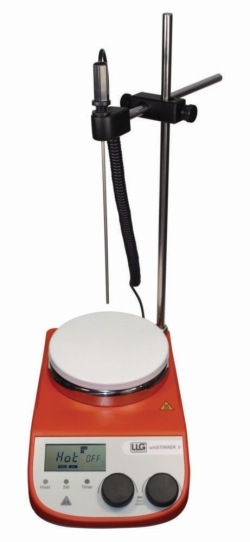 Magnetrührer mit Heizung LLG-uniSTIRRER 5, Komplettset
