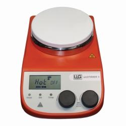 Agitatore magnetico riscaldante LLG-uniSTIRRER 5, pacchetto completo