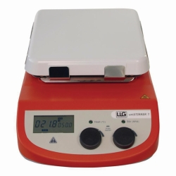 Magnetic stirrer with heating LLG-uniSTIRRER 7, complete package