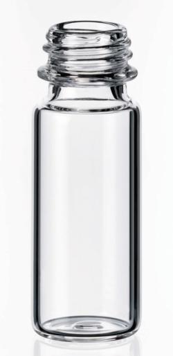 LLG-Vials filetto corto ND9, apertura larga, SureStop™