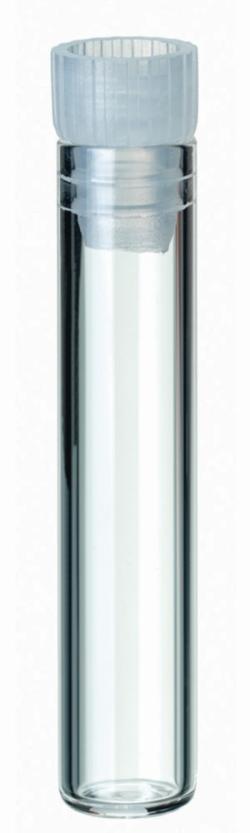 Shell Vials, with PE lamella plug