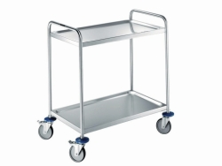 LLG Trolleys, Stainless Steel