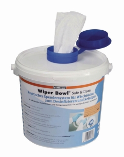 LLG - Bidone dispensatore Wiper Bowl<SUP>®</SUP> Safe & Clean per salviette