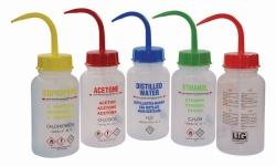 LLG-Spritzflaschen, 500 ml, mit GHS Aufdruck, LDPE