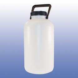 LLG-Botellas, boca ancha, HPDE