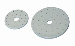 Plaque - LLG pour dessiccateur, en porcelaine
