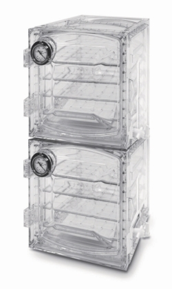 "LLG-Vacuum desiccator cabinets, polycarbonate, square form, ""Heavy Duty"""